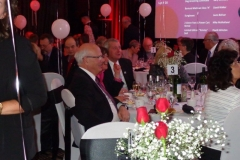 Peter Mansbridge (Enjoying the show!)