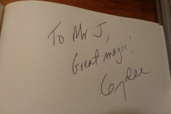 Mr. D (Gerry Dee autograph)