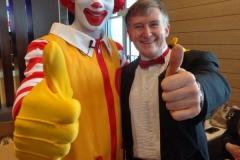 Ronald McDonald (!)