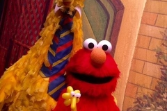 Sesame Street (Elmo took Big Bird's balloon gift!)
