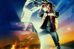 Back to the Future (Michael J. Fox poster)
