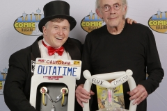 Back to the Future (Christopher Lloyd, with Flux Capacitors)