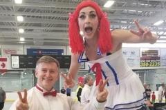 Atlantic Cirque (Vanessa Furlong, stilt walker & aerialist)