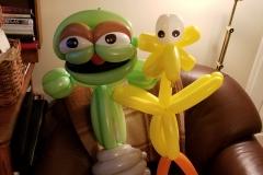 Sesame Street's Caroll Spinney (Balloon gifts)