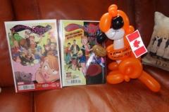 Ryan North (Squirrel Girl balloon gift)