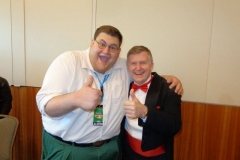 """Family Guy (""""Real life Peter Griffin"""" entertainer)"""