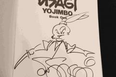 Stan Sakai (Autograph, and original sketch!)