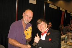 Jim Starlin (with Infinity Gauntlet)