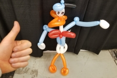 Don Rosa (Donald Duck balloon gift)