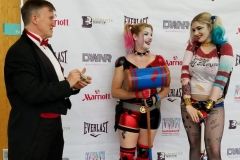 Harley Quinns (performing magic)