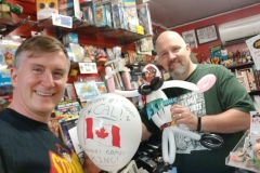 Calum Johnston (Reid Flemming, World's Toughest Milkman balloon)