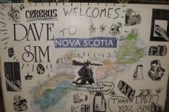 Dave Sim (Tribute sign)