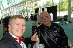 Davros (Chillin' with the Dalek creator)