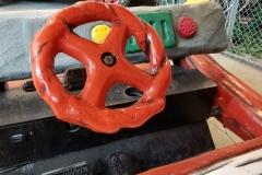 Flintstones car (inside)