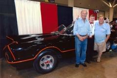 Batmobile (with Adam West & Burt Ward- 1960s Batman & Robin!)