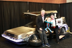 Back to the Future (DeLorean, with Thomas F. Wilson- BIFF himself!)