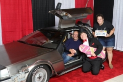 Back to the Future (DeLorean, with Christopher Lloyd- The Doc!)