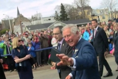 "Prince Charles (Waves, and says: ""Oh look, someone's making balloons!"")"