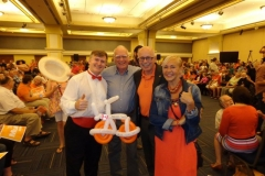 Lenore Zann (with NDP candidates at rally)