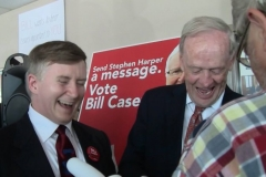 Jean Chrétien (Sharing a laugh!)