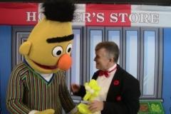Sesame Street (Bert reacts to the Big Bird balloon)