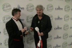 """Tom Cochrane (""""That's awesome- You've got to teach me that!"""")"""