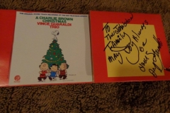 Jerry Granelli (signs 'A Charlie Brown Christmas' album)