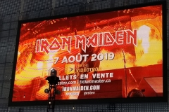 Iron Maiden (Québec City, Aug. 9th- Bruce's Birthday!)