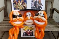 ZZ Top (Balloon tribute)