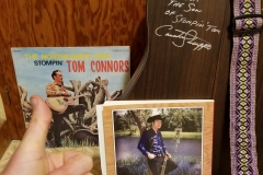 Stompin' Tom Connors (Son Taw Connors signed guitar!)