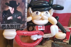 Stompin' Tom Connors (Tribute balloon gift for his son, Taw)