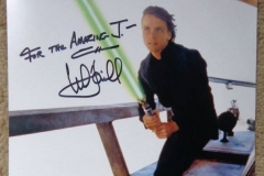 Luke Skywalker (Mark Hamill autograph)