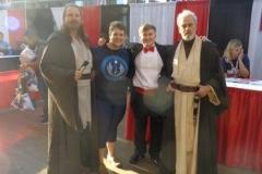 Qui-Gon Jinn & Obi-Wan Kenobi (cosplayers)