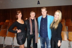 Ray Anderson (with Amber Minchella & Holly Holmes)