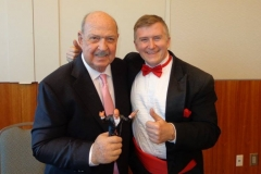 Mean Gene Okerlund (Holding our childhood toy)