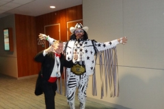 Macho Man Randy Savage (Cosplay contestant)