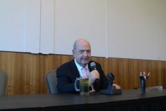 Mean Gene Okerlund (Funny anecdote- he was best man at Iron Sheik's wedding!) )