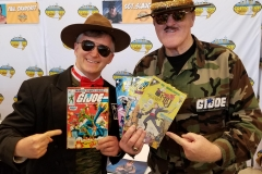 Sgt. Slaughter (Looking at each others' comics)