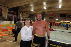 Jack Swagger (Post-match handshake)